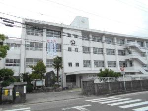 松山市立雄新中学校 約350m(徒歩5分)