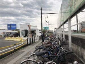 自転車置き場も整備されています