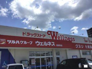 ドラッグストアウェルネス昭和町店(約1,000m)