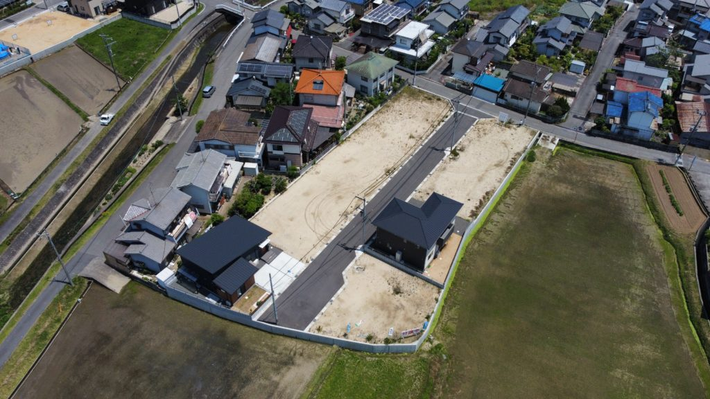 分譲地上空写真 2021年6月1日撮影