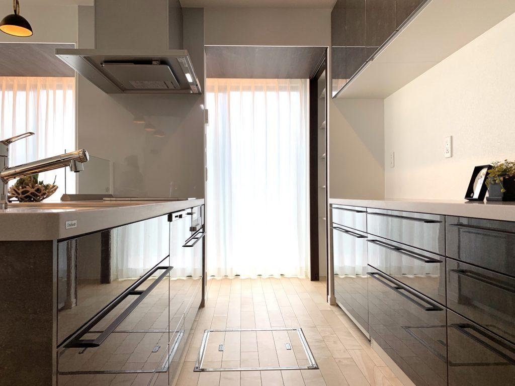 キッチンもたくさん収納できます。(2020年10月撮影)