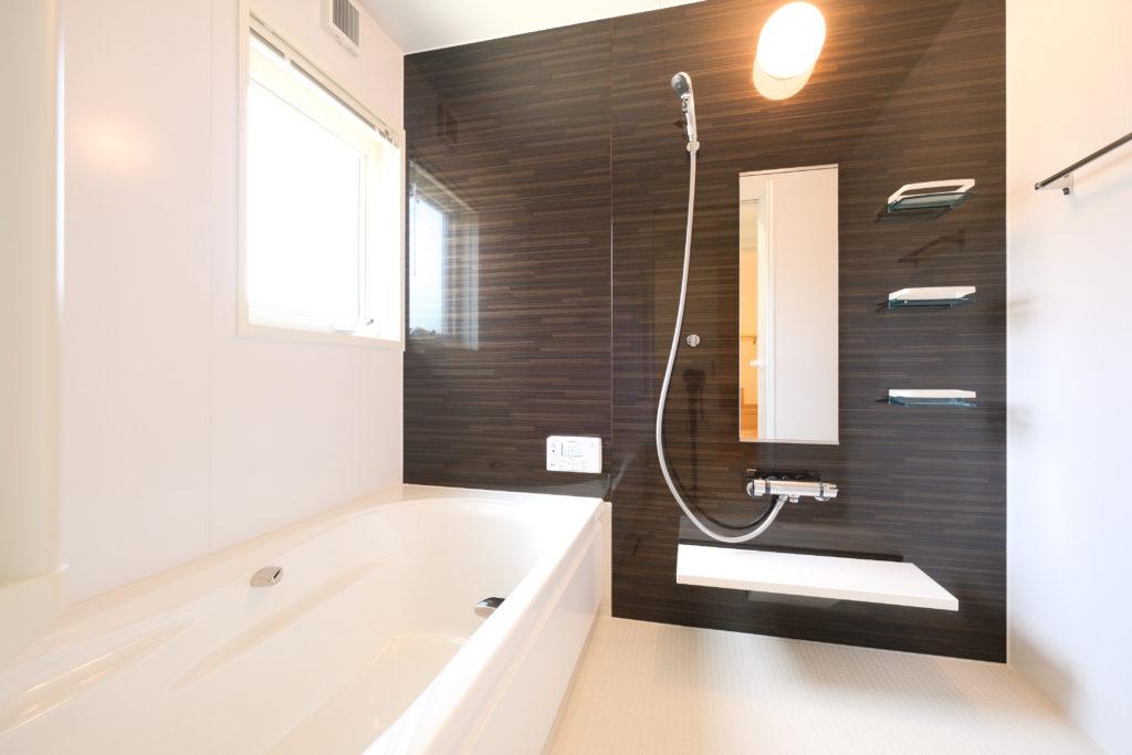 1.25坪の広々浴室【2021.05.10】