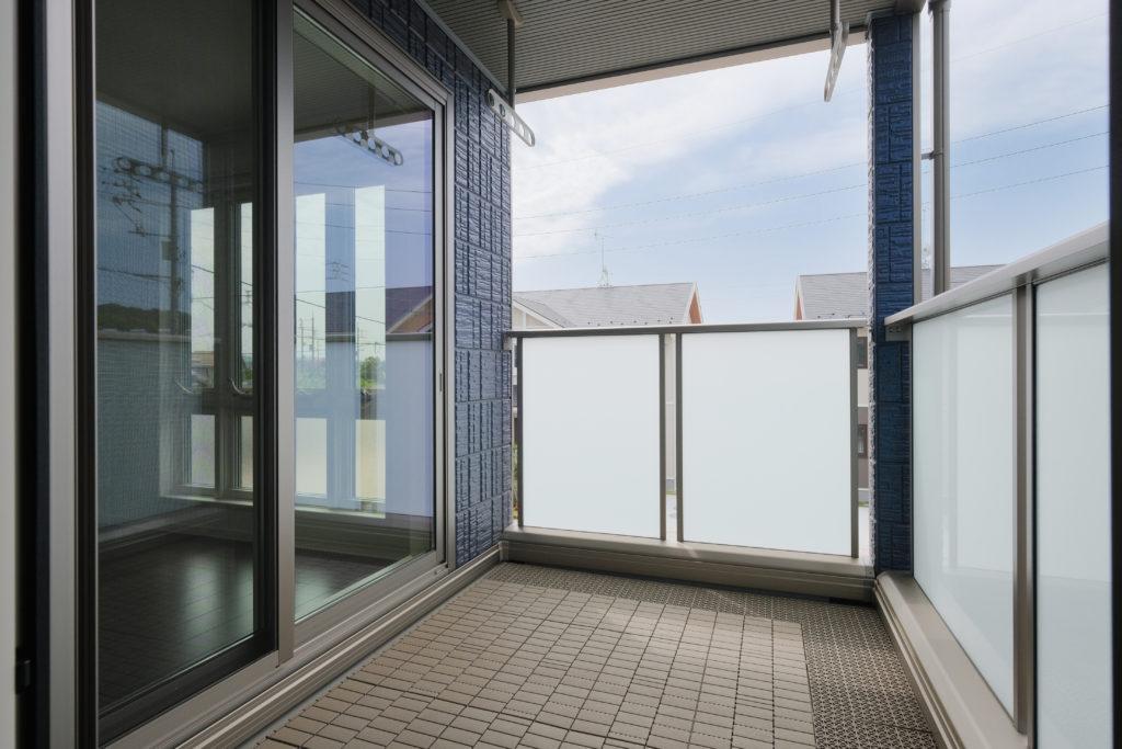サンルームと隣接した屋根付バルコニー【2021.05.10】