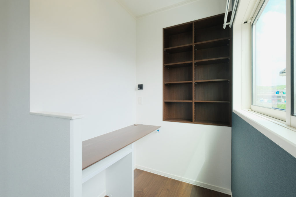 本棚のある書斎スペース【2021.05.10】