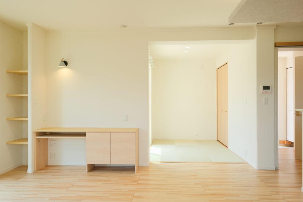 LDK隣接の畳ルーム【2021.05.10】