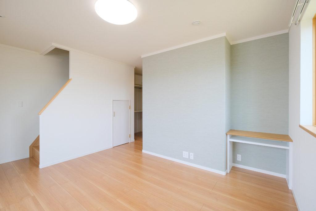 主寝室にカウンター。あれ、階段が…?【2021.05.10】