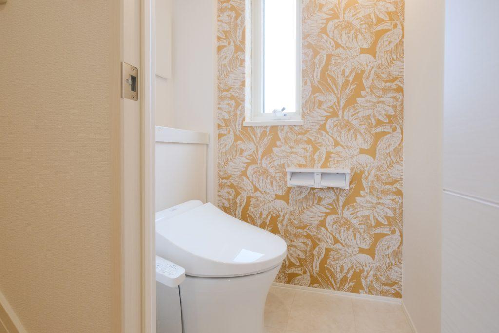 壁紙にこだわったトイレ【2021.07.01】